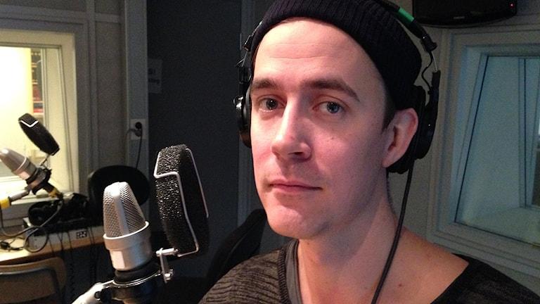 Olle Strandberg. Foto: Calle Käck/Sveriges Radio