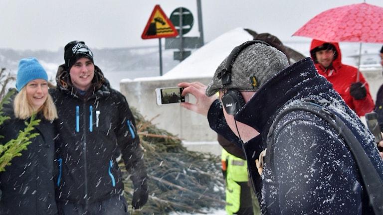 Anders Hildemar Ohlsson i P4 Stockholm. Foto: Sveriges Radio.