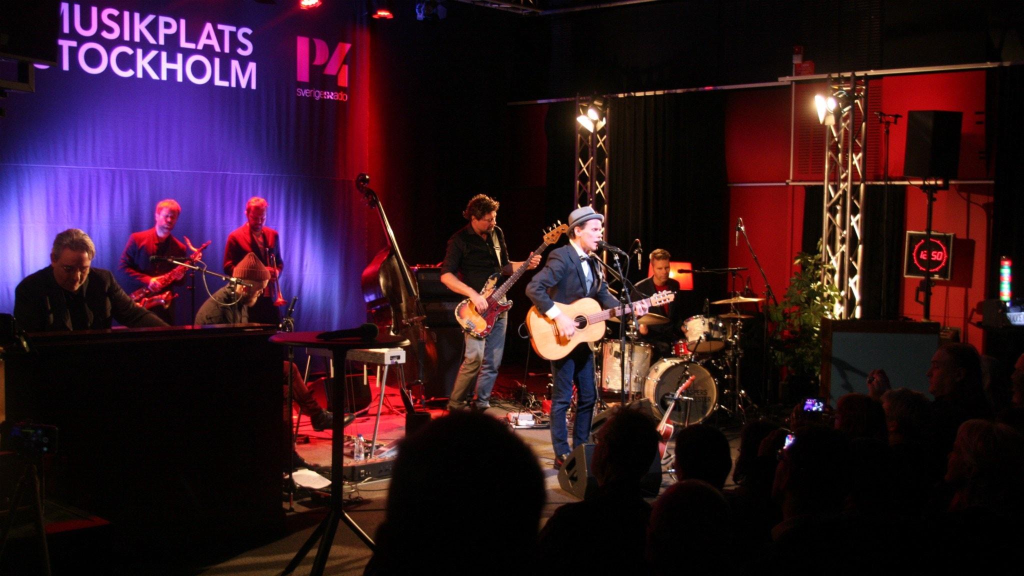 Bo Kaspers Orkester live i veckans show