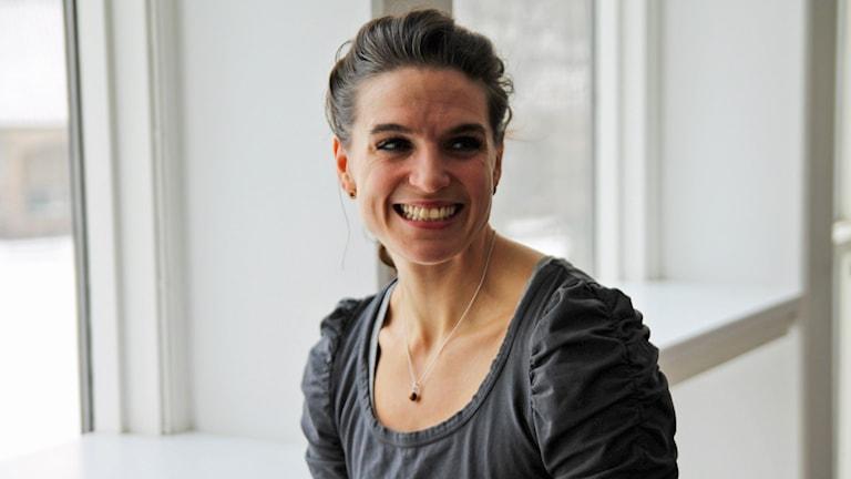 Nadja Casadei. Foto: Helen Ling/Sveriges Radio.