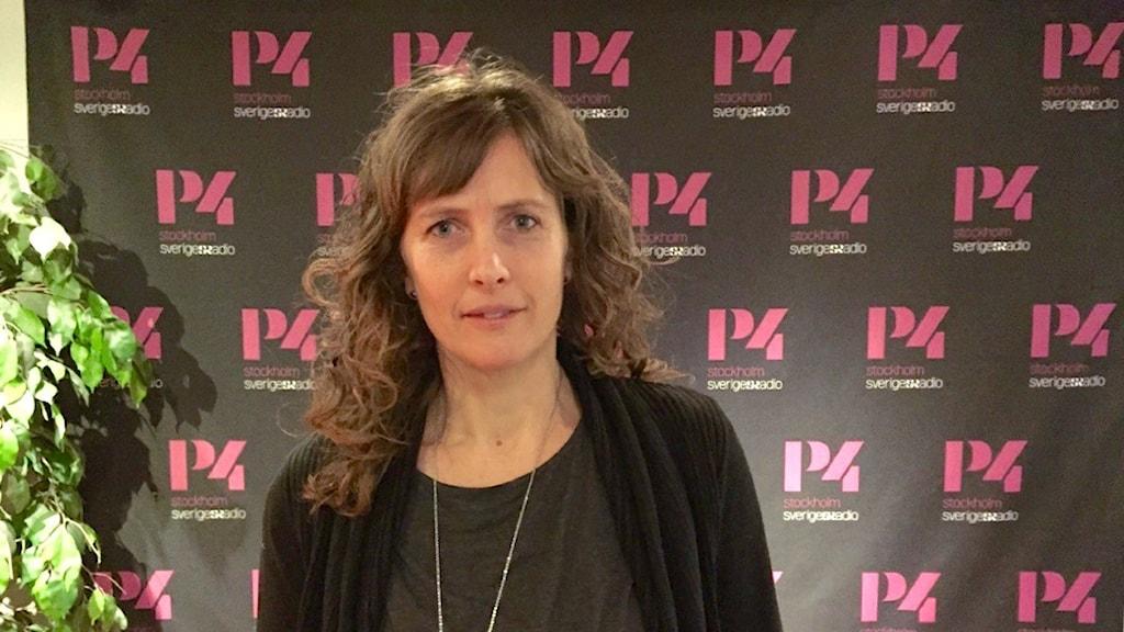 Ann Fernlund, författare till boken Smakäventyret. Foto: Josefine Sundström/Sveriges Radio
