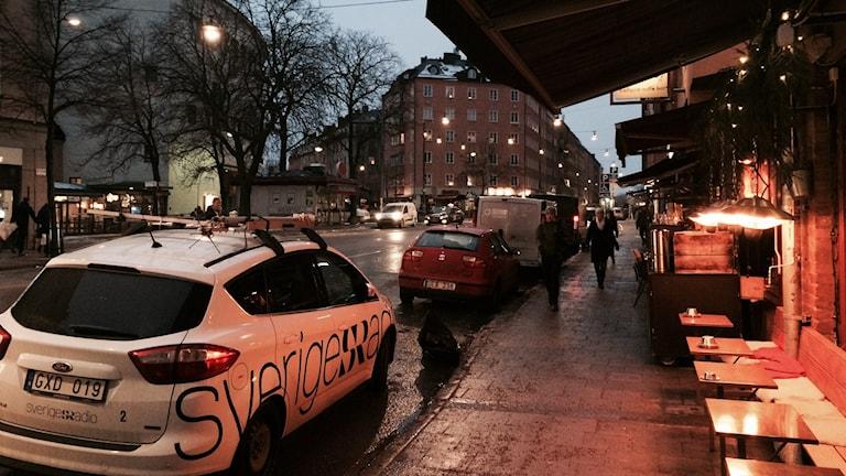 Rörstrandsgatan i Stockholm. Foto: Sveriges Radio.