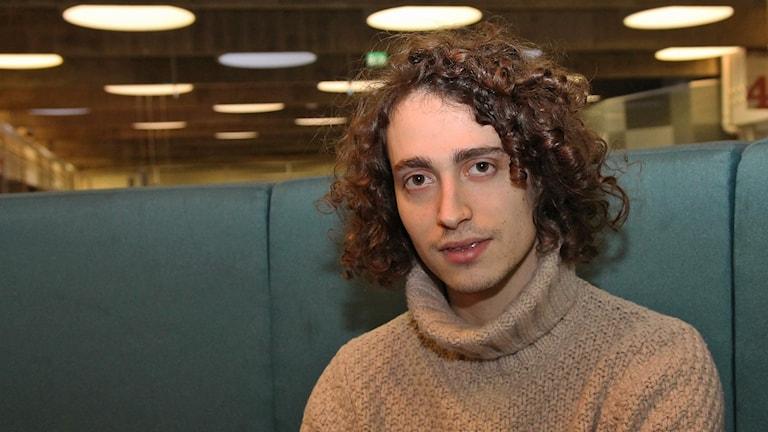 Jacob Mülrad, kompositör. Foto: Helen Ling /Sveriges Radio.