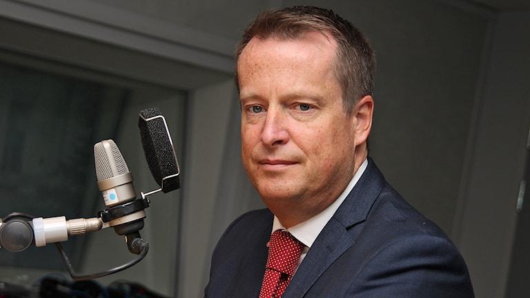 Anders Ygeman (S). Foto: Helen Ling/Sveriges Radio.