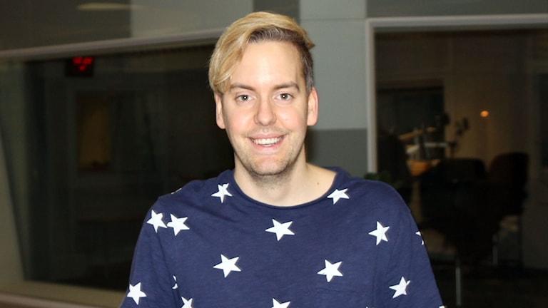 Mattias Kristiansson, chefredaktör tidningen Vego. Foto: Emelie Smedslund/Sveriges Radio