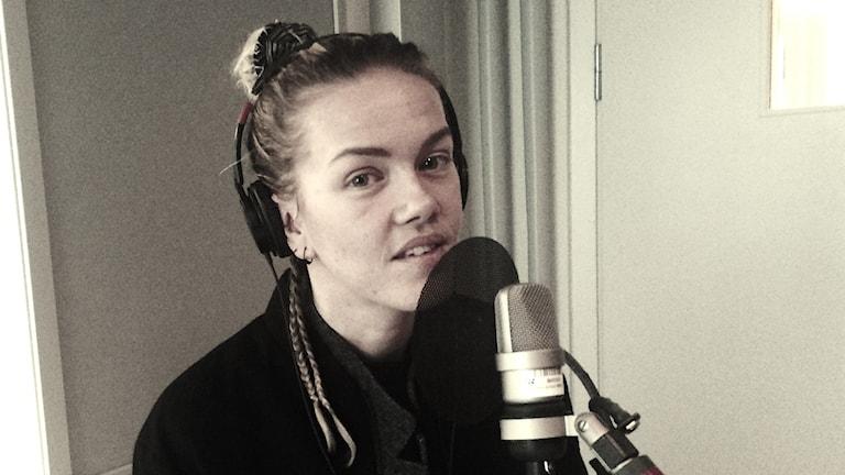 Ana Diaz. Foto: Fredrik Eliasson/Sveriges Radio