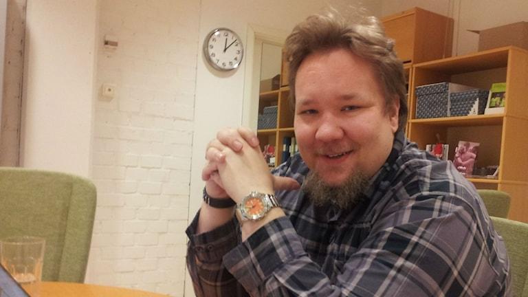 Johan Hammarström. Foto:Peter Johansson/Sveriges Radio