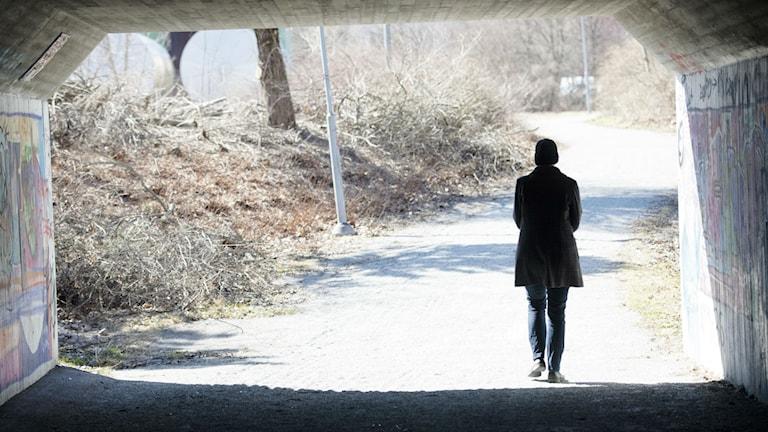 Kvinnan på bilden har ingenting med reportaget att göra. Foto: Fredrik Sandberg/TT
