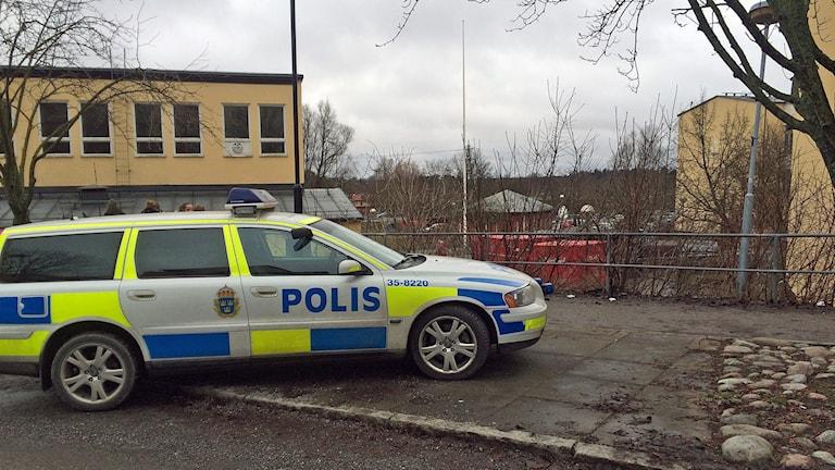 Knivattack på Edsbergsskolan i Sollentuna.