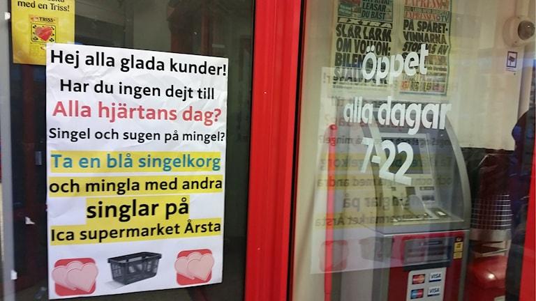 Ica supermarket i Årsta