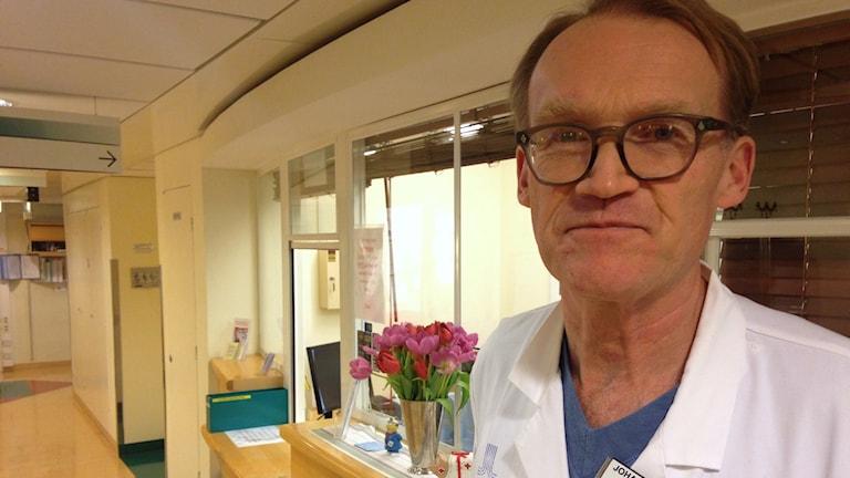 """""""Många inom psykiatrin säger upp sig"""", säger Johan Styrud. Foto: Mariela Quintana Melin/Sveriges Radio."""