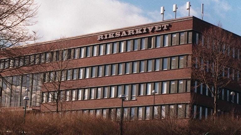 Riksarkivet på Kungsholmen (arkivbild).