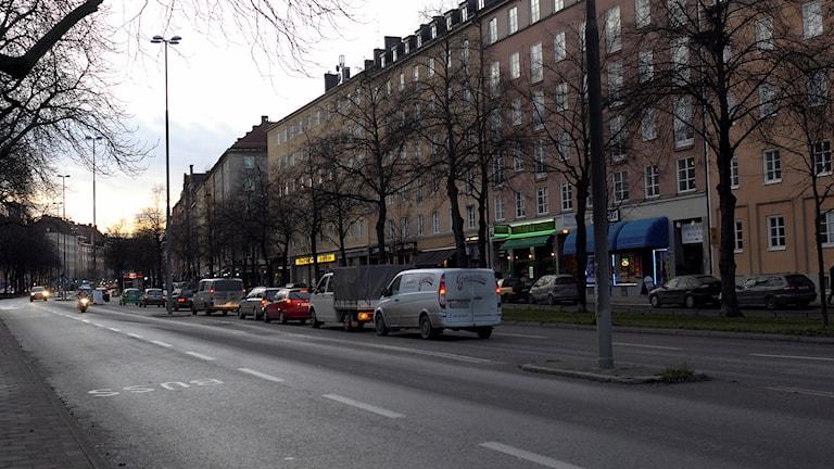Ringvägen i Stockholm.