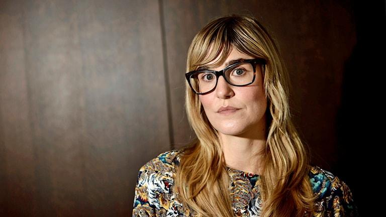"""Lisa Langseth jobbade med Alicia Vikander i filmen """"Till det som är vackert""""."""