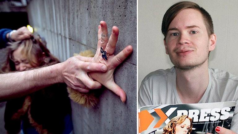 Genusfotografen Tomas Gunnarsson om mediernas bilder av sexuellt våld