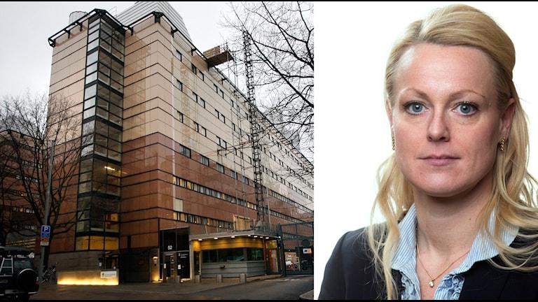 Jenny von Alten är ny chef för Kronobergshäktet. Foto: Kriminalvården
