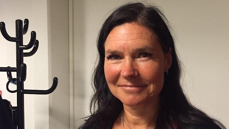 Maria Hällström, leg psykoterapeut på Söderstöd