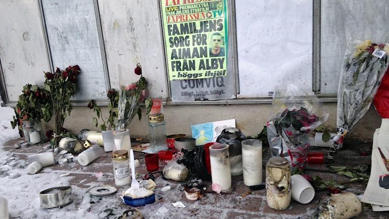Aiman knivhöggs till döds.
