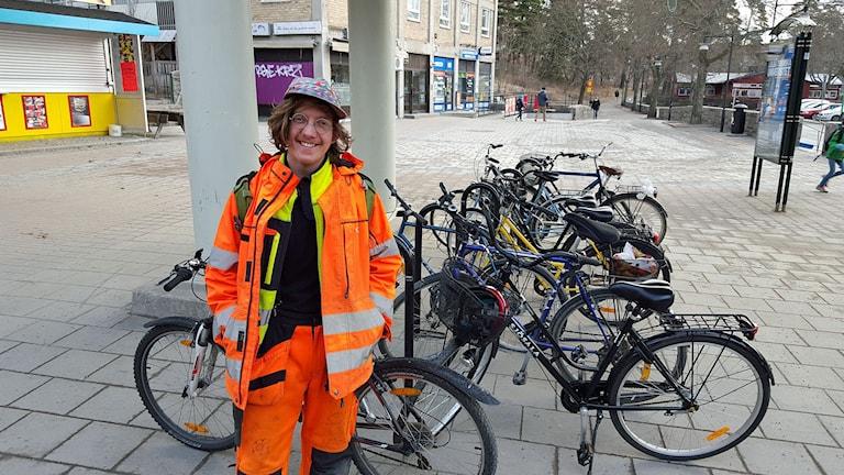 Otto Rimfors driver cykelkök i Bagarmossen