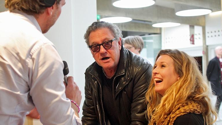 Pernilla Andersson och Tommy Körberg