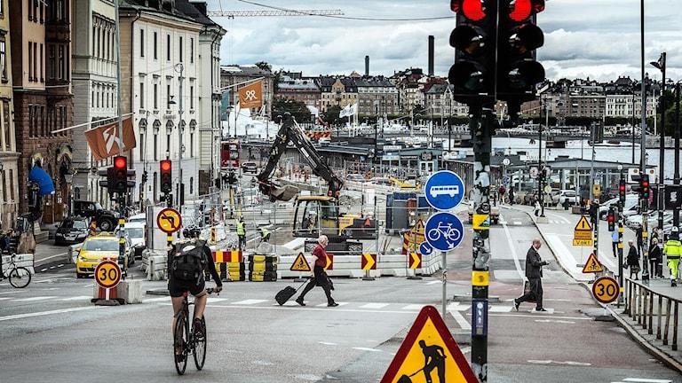Skeppsbron. Foto: Tomas Oneborg/TT.