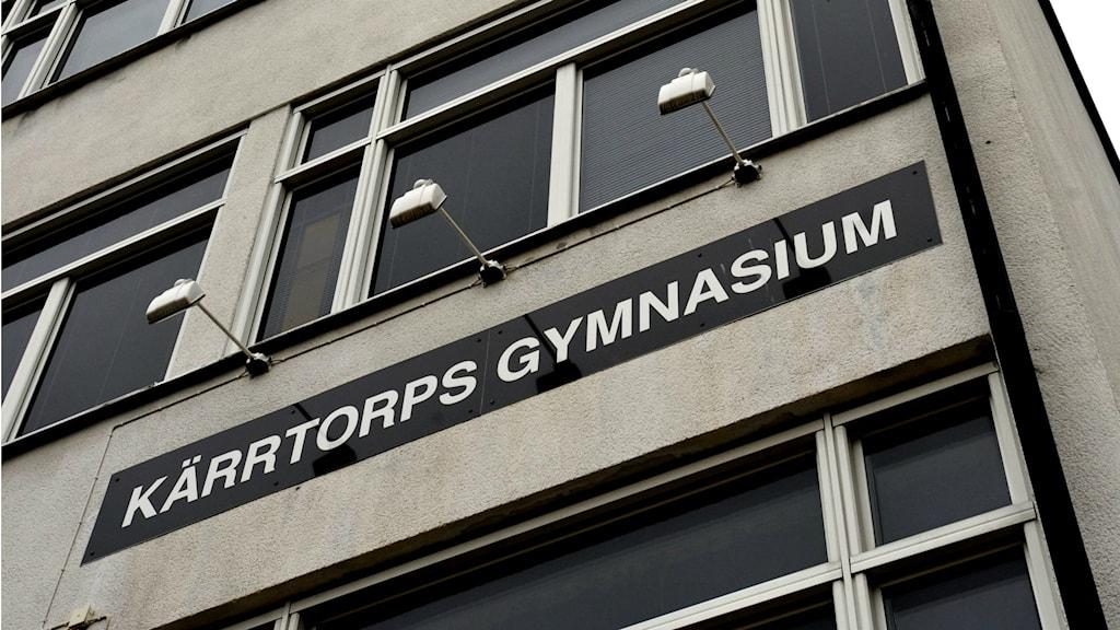 Lärare avstängd vid Kärrtorps Gymnasium