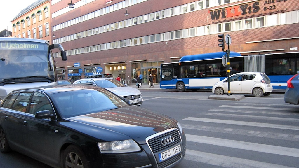 Trafik i Stockholms innerstad