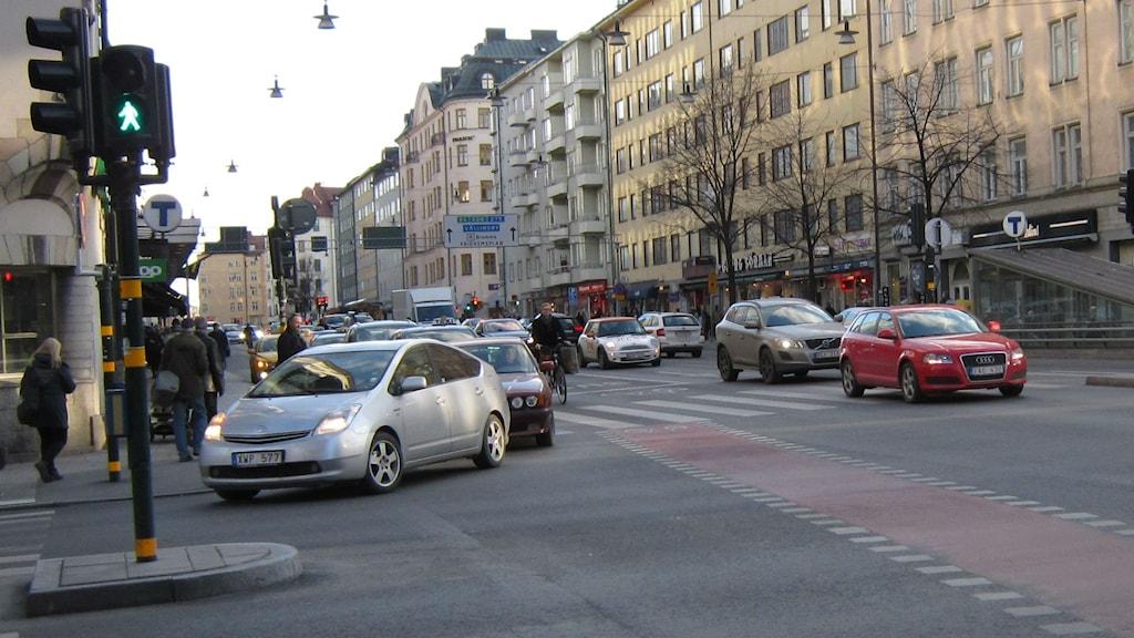 Trafik på Kungsholmen