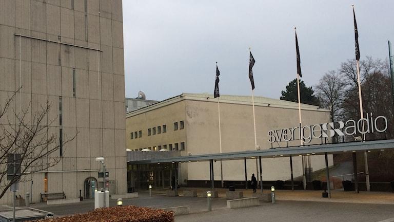 Radiohuset i Stockholm.