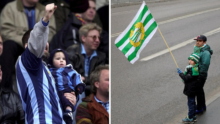 Hammarbys och Djurgårdens fans
