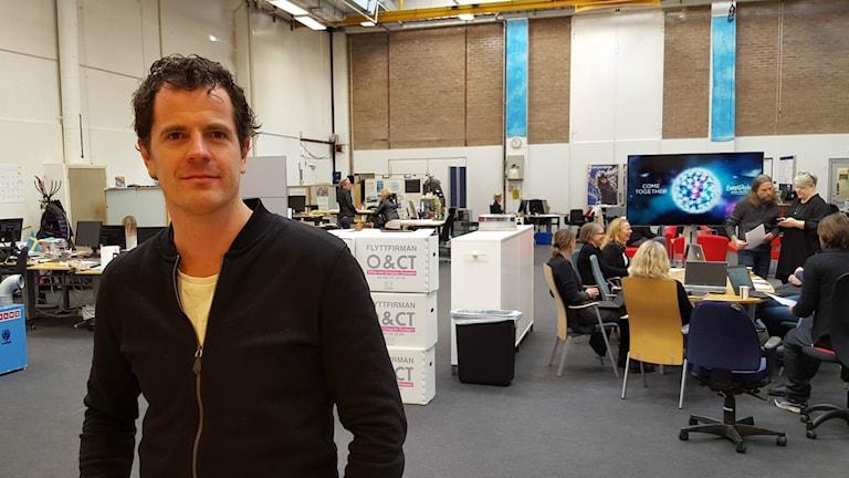 Martin Österdahl på SVT är exekutiv producent för ESC 2016