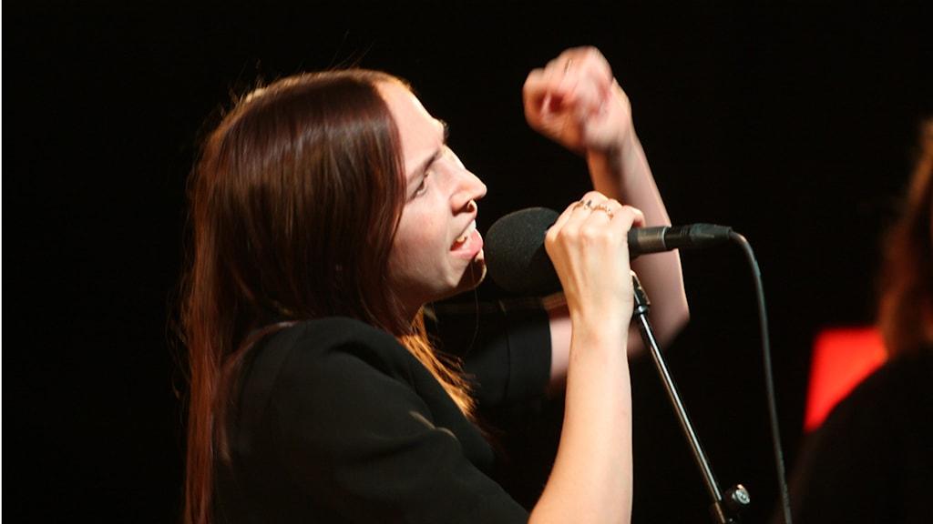 Maria Andersson Lundell på Musikplats Stockholm.