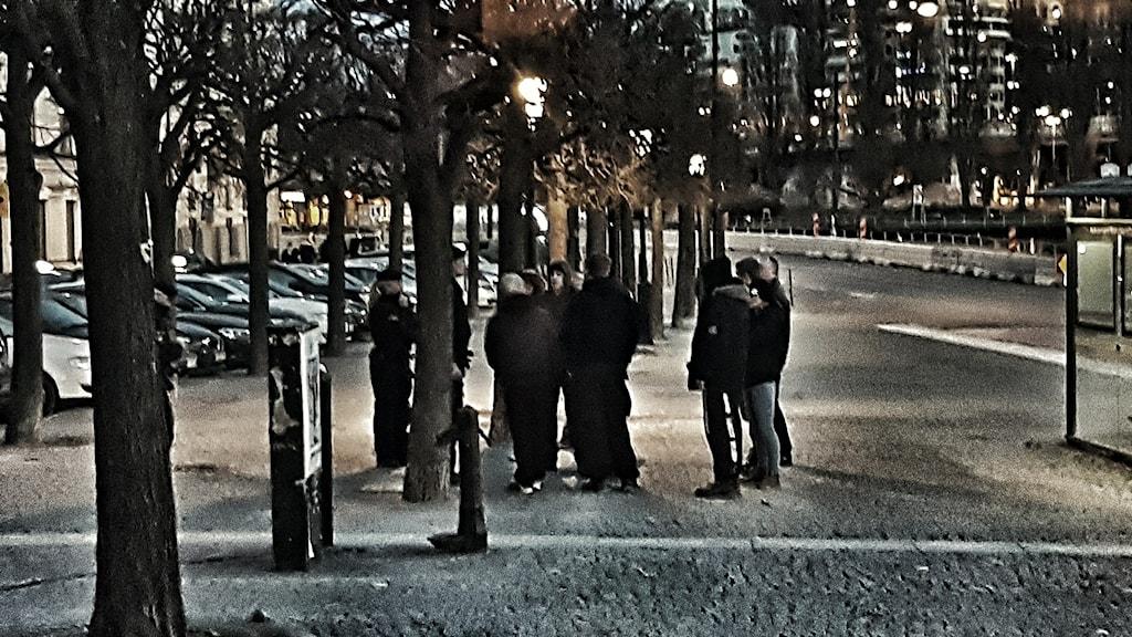 Soldiers of Odin i Gamla stan. Hårdare redigerad