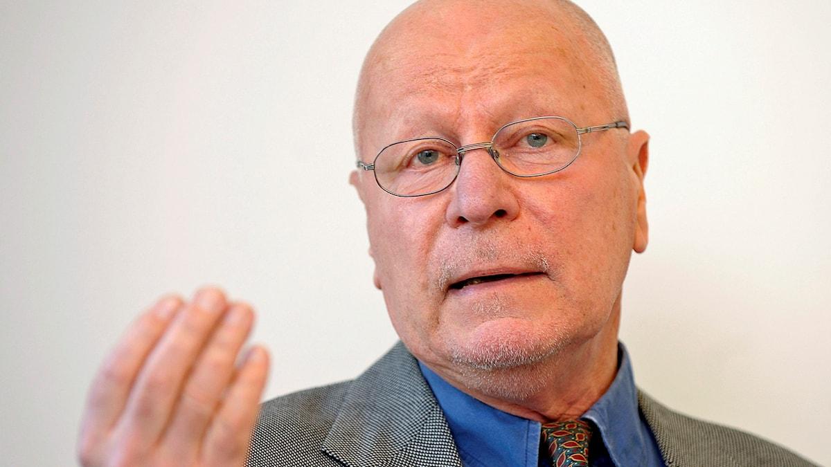 Sven-Erik Alhem, ordförande för Brottsofferjouren