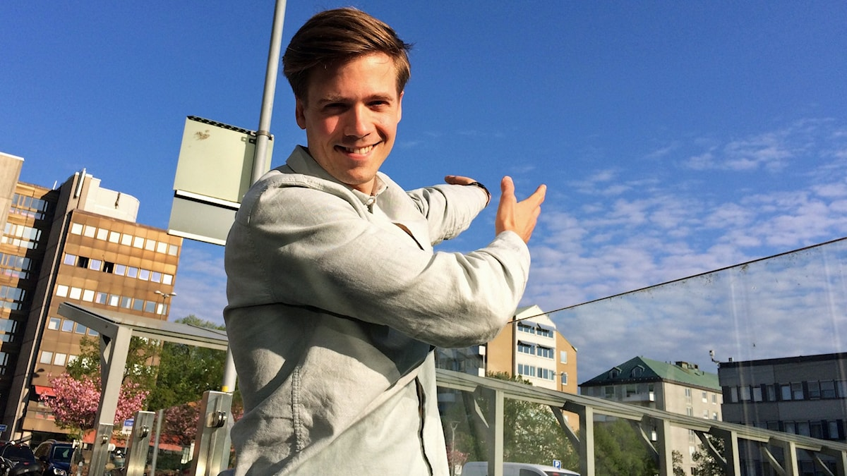 Meteorolog Nils Holmqvist