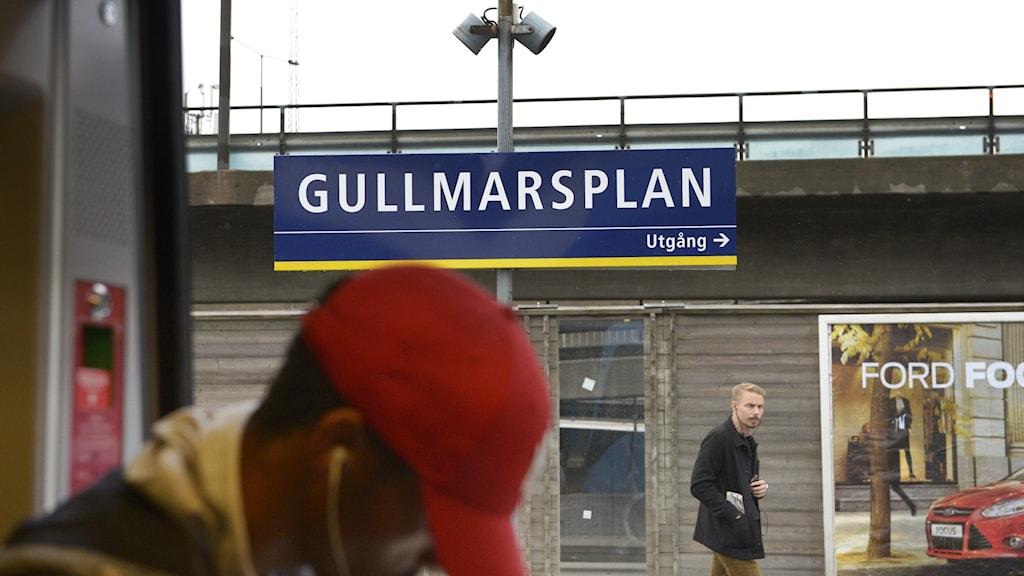 Gullmarsplan är en av 14 stationer som ingår i projektet.