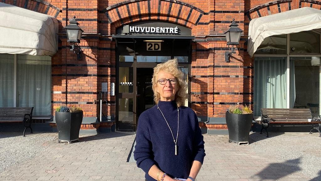 Lena Bäckström, verksamhetschef på Capios vårdcentral på Kungsholmen.