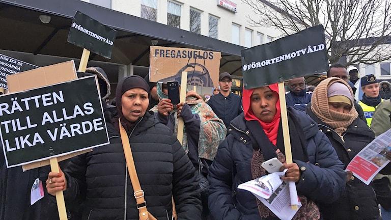 Demonstration Rinkeby.