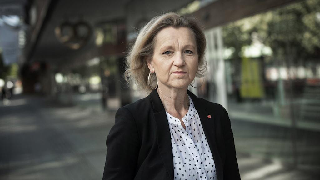 Boel Godner (S) är kommunstyrelsens ordförande i Södertälje.