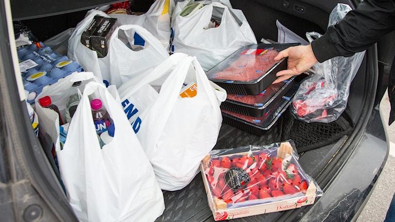 Livsmedelshandeln i Stockholmsområdet går starkt