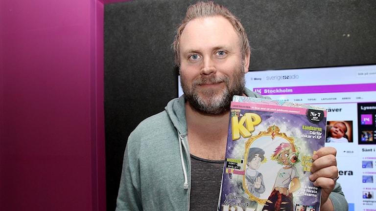 Lukas Björkman, chefredaktör Kamratposten