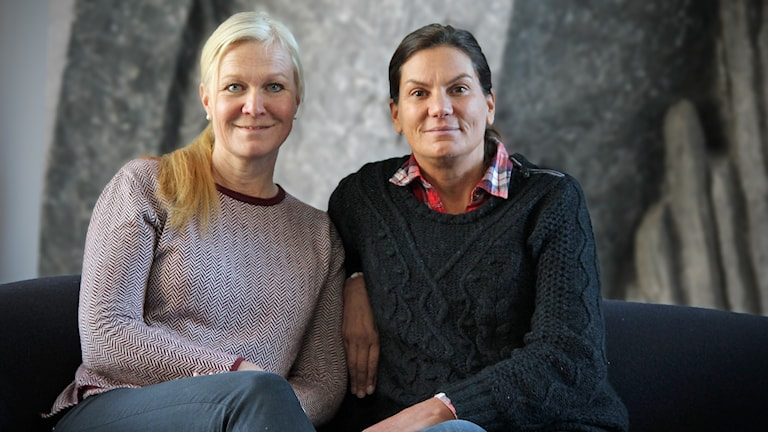 Marie Axelsson och Carro Planstedt i P4 Stockholm