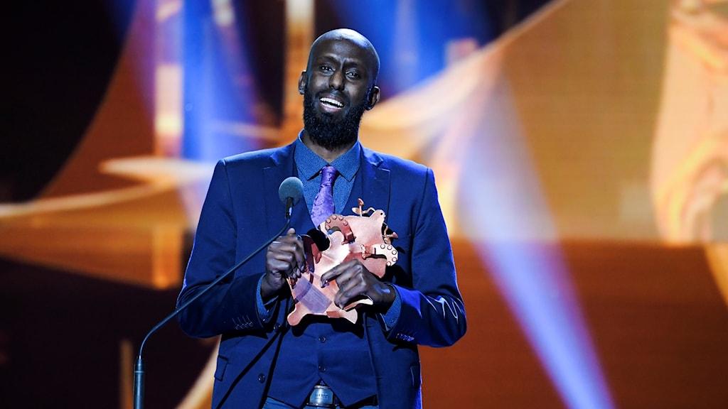 Ahmed Abdullahi vinner guldbaggen