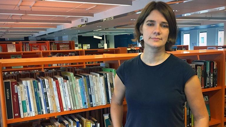 Anja Dahlstedt, verksamhetschef bibliotek Botkyrka.