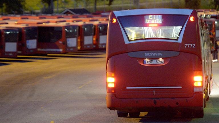 Nobina ställer in busstrafik i Södertälje.