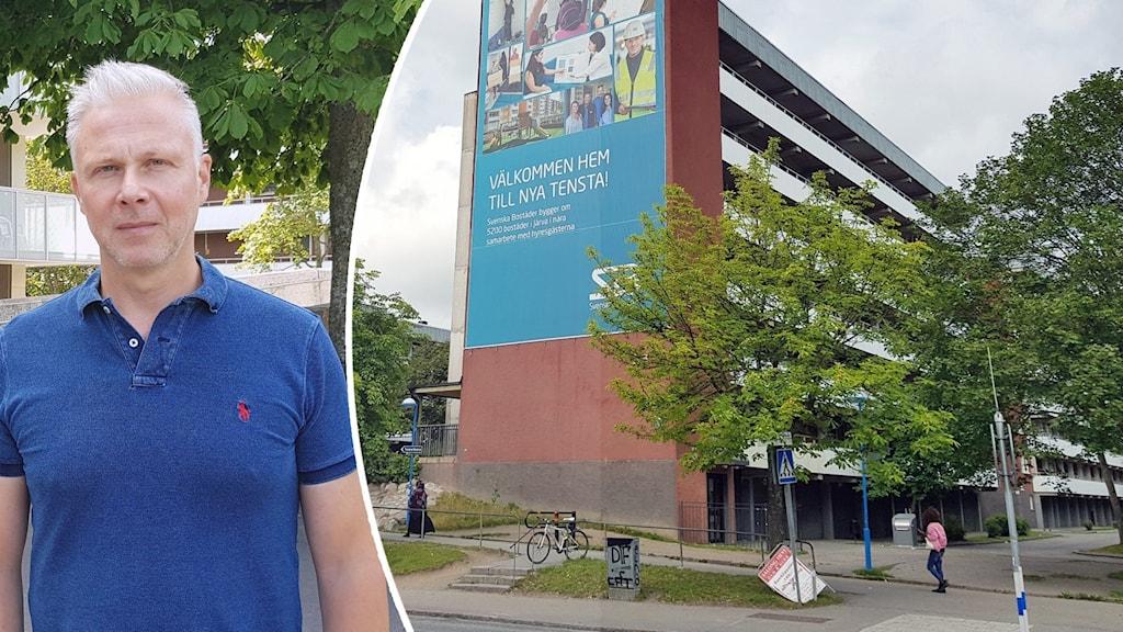 Ulf Malm och Svenska Bostäder i Tensta