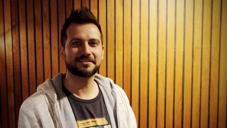 Filmkompositören Glen Gabriel.