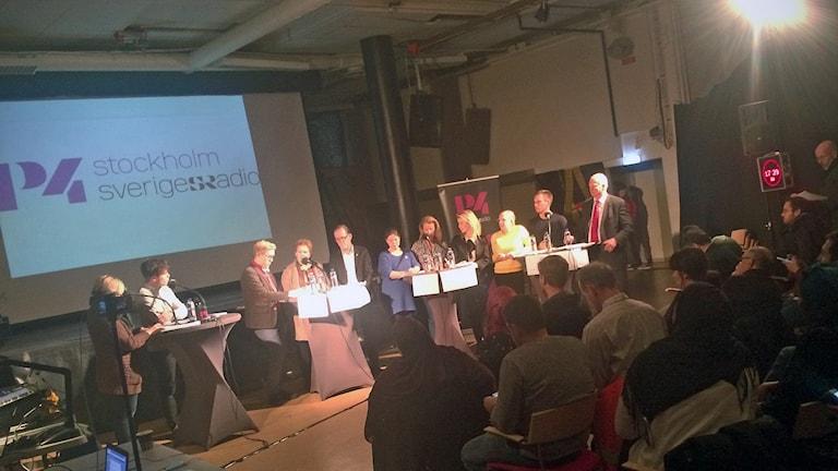 Debatt i Skärholmen