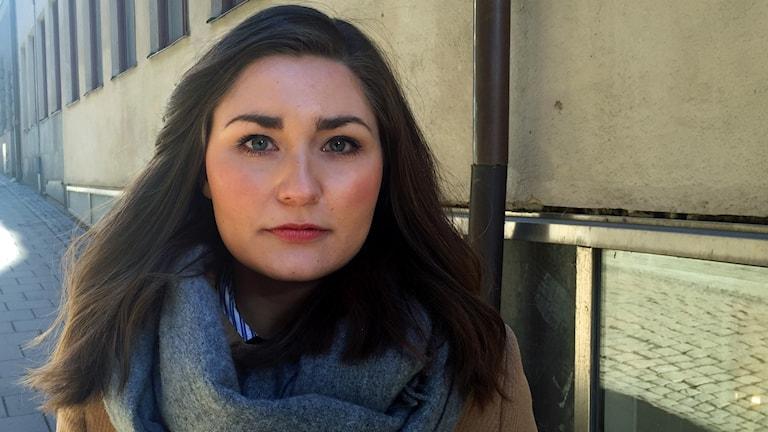 Lina Hultqvist, ordförande för Sveriges Elevkårer.