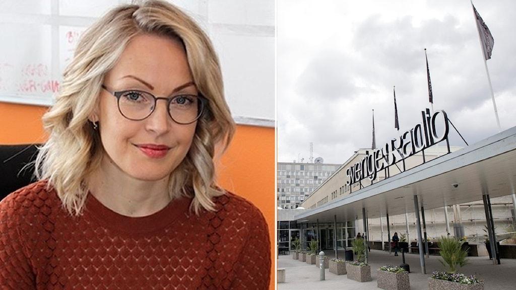 Sofia Taavitsainen, kanalchef på P4 Stockholm.